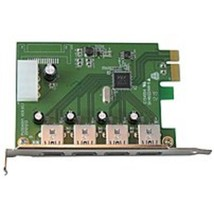 Visiontek 900544 4-Port Expansion Card - USB 3.0 - 1 x PCI Express - Wired - $42.68