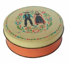 Amish tin box Jakob Amman advertising marriage collectible gift decor an... - $38.65