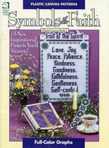 Symbols of Our Faith Book 2 - 15 Designs Plastic Canvas PATTERN/INSTRUCT... - $3.57