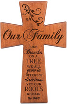 LifeSong Milestones Our Family Like Branches On A Tree Cherry Wood Wall ... - $82.70