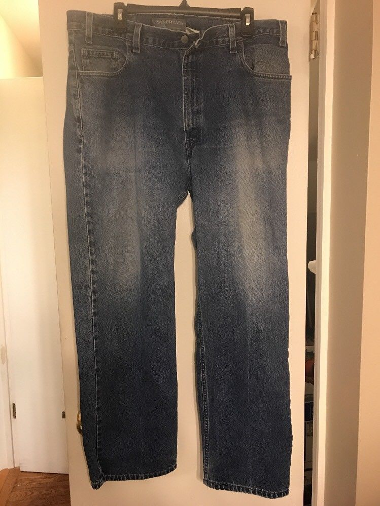 57cecaeb Levis Mens Silvertab Relaxed Zipper Fly and 50 similar items