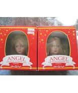 Fibre Craft Angel Head & Hands set, two, both blonds, vinyl - $20.00
