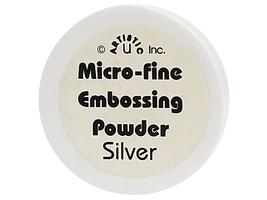 Artistic U Inc Micro-Fine Embossing Powder, Silver image 1