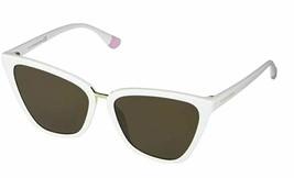 Victoria's Secret VS0030 Solid White Shiny Gold New Women's Sunglasses - $98.01