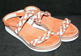 Jambu Women's Ocean City Braided Slingback Sport Wedge Sandals Size 7.5 EUR 38.5 - $9.89