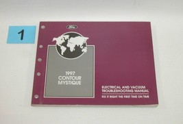 1997 Contour Electrical and Vacuum Trouble Shooting Service Manual GOOD USED #1 - $22.72