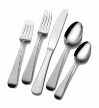 Mikasa Satin Tanner 5 Piece Place Setting, Service for One - $48.02