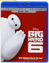 Disney Big Hero 6 (Blu-ray + DVD) - $11.95