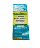 SPRING VALLEY 4-FUNCTION BRAIN SUPPORT, 60 COUNT - $20.57
