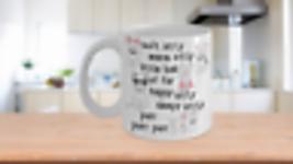 Soft Kitty Song Coffee Mug Cat Lovers Big Bang Purr Purr Purr - $14.99