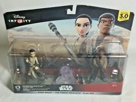New Star Wars Infinity 3.0 Star Wars The Force Awakens Play Set Finn & Rey - $12.86