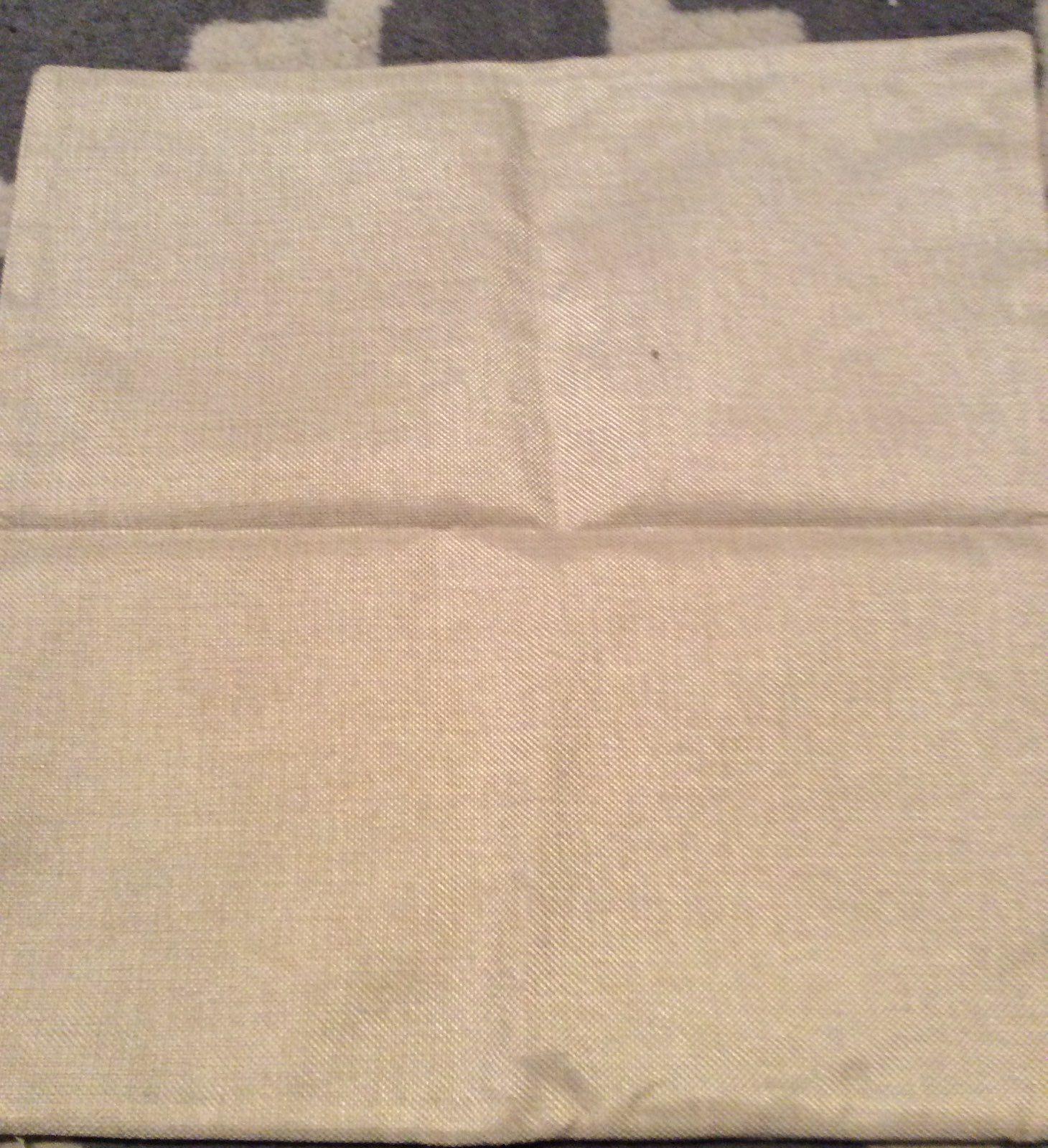 Owl Throw Pillow Cover Cushion Case 18 x 18