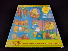 Schmid Paguzzle Goldilocks and the 3 Bears 100 Piece puzzle and game - $7.38