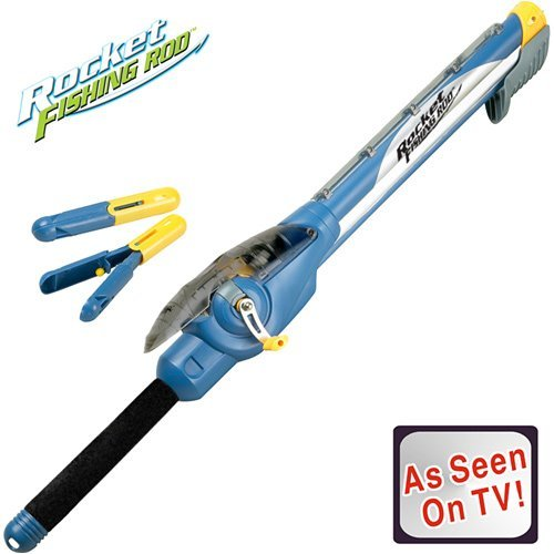 FogoSports RocketRod - the AS SEEN ON TV Kids Rocket Fishing Rod that SHOOTS!