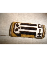 Hand beaded lighter case for bic type lighters - $12.50