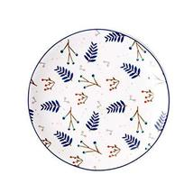 DRAGON SONIC Set of 4,Cute Ceramic Plate Creative Western Dishes for Home Kitche - $22.80