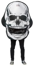 Skull Mouth Head Costume Adult Men Women Halloween Party Unique One Size... - $59.99