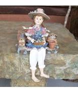 Shelf Sitter, Martha, Gardening Woman by Daddy'... - $28.00