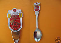 BRANDON Manitoba SCOTT Tournament of Hearts Souvenir Spoon