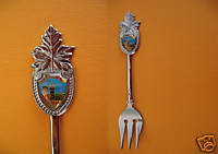 OTTAWA PARLIAMENT BUILDING GUARD Souvenir Spoon FORK