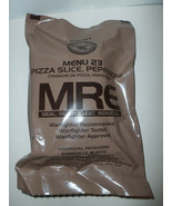 Orig US DOD Military MRE Meal Ready to Eat Menu 23 Pepperoni Pizza Slice... - $69.25