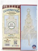 "Design Works/Zenbroidery Macrame Wall Hanging Kit 11""X24""-White Tree - $14.39"