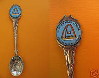 ROGERS PASS BC. Fancy Collector Souvenir Spoon