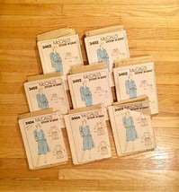 Vintage set of Misc Fashion/Sewing pattern paper parts for scrapbooking! image 2