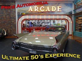 Arcade Ultimate 50's Experience Price Automobilia Collection Metal Sign - $30.00