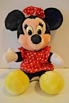 "Vintage Disney World Minnie Mouse Stuffed Plush Disneyland 14"" - $14.99"