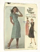 VTG 1970s Vogue Diane Von Furstenberg Wrap Dress Sewing Pattern 1610 Sz 8 Uncut - $83.22