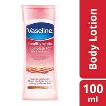 Vaseline Healthy White Complete 10 Lightening Body Lotion 100ml Moisturiser - $9.99