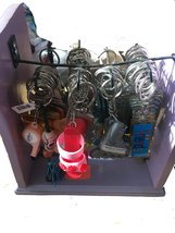 ASSORTED SOLAR AND NON-SOLAR KEY RINGS - $9.89