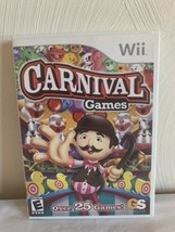Carnival Games (Nintendo Wii, 2007) Complete Tested - $11.88
