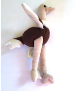 """Ty Teanie Beanie Babies Stretchy Ostrich 6 1/2"""" Plush - $3.99"""