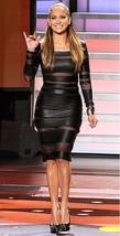New Stylish 100% Genuine Lambskin Leather Designer Women's Ladies Black ... - $185.00