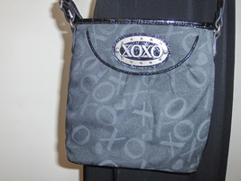 XOXO Black Purse Shoulder Sling Crossbody Cross BodyTote Bag  - $19.97