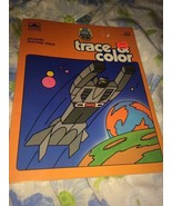 VTG 1985 Go Bots Trace & Color Coloring Book Unused 80s Robots - $13.63