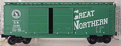 Micro Trains 23190 Great Northern 40' Boxcar 3336