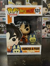 Funko Pop! Dragonball Z Yamcha and Puar #531 Vinyl Figure WITH PROTECTOR! - $12.24