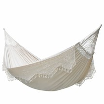 Vivere Authentic Brazilian Elegant Hammock 450 lb Capacity, Antique Doub... - $93.47