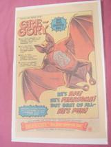 1980 Mattel Ad Gre-Gory Big Bad Vampire Bat - $7.99