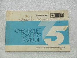 1975 Chevrolet Chevy Owners Manual 16036 - $18.76