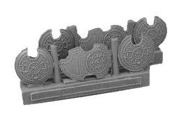 28mm Miniature Conversion Parts Celtic Shields