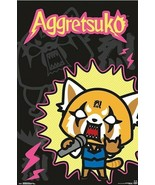 """Aggretsuko Rock Out 22x34"""" Poster! - $11.14"""