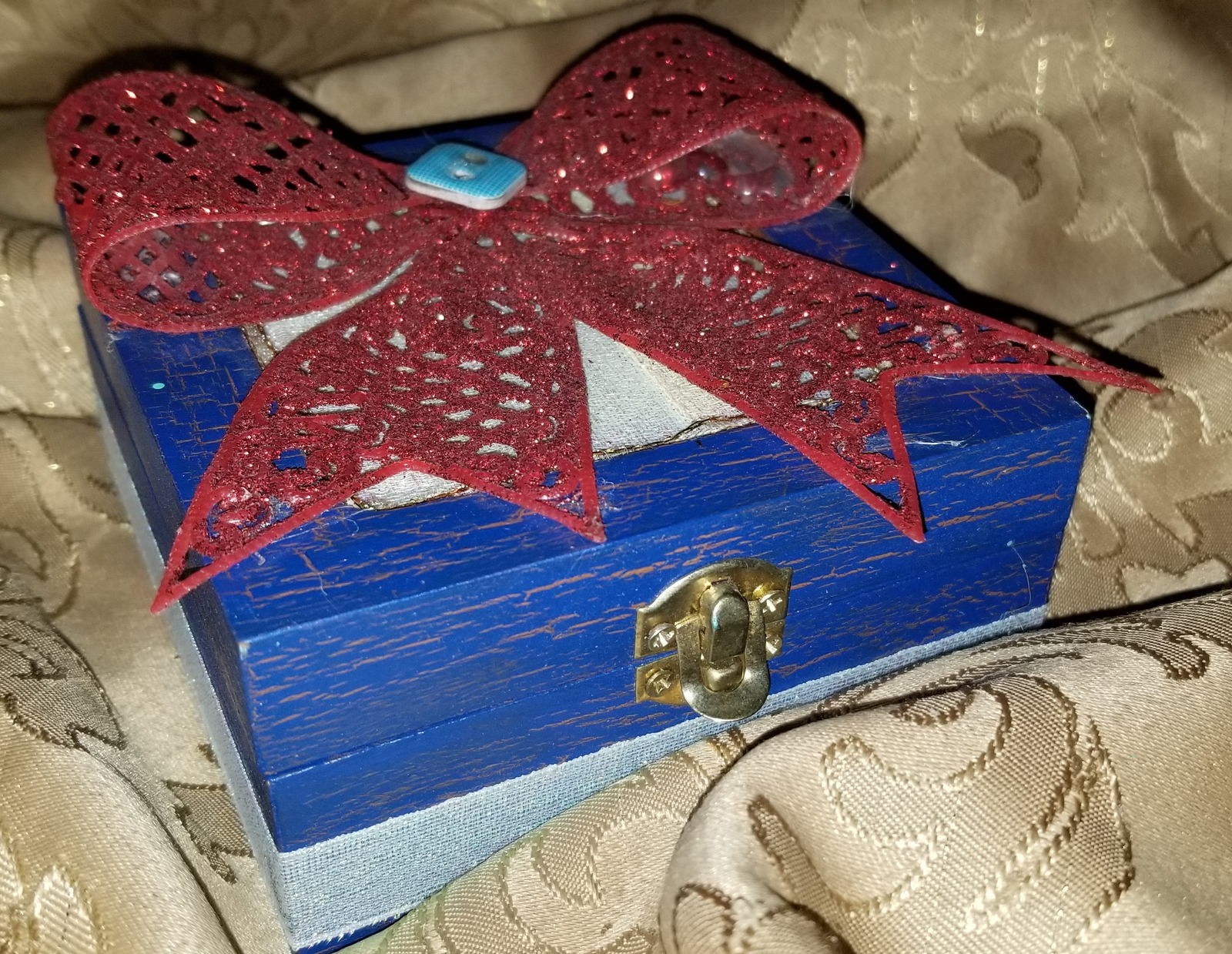 Patriotic Jewelry Box