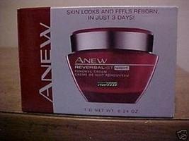 Avon Anew Reversalist Renewal Night Cream .24 oz Mini Travel Trial, set ... - $14.84