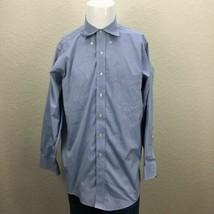 Mens Brooks Brothers 16-33 Non Iron All Cotton Blue Dress Shirt - $19.99
