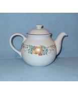 Corelle Coordinates Abundance Teapot with Lid 5 Cup Tea Pot Stoneware - $14.99
