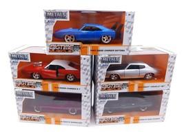 Jada Toys Bigtime Muscle 1:32 Diecast 5 CAR SET - $44.41